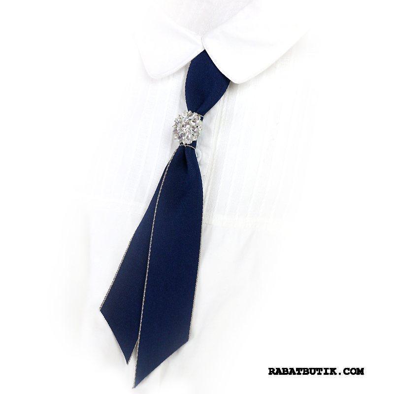 Butterfly Dame Billige Ny Britisk Alt Matcher Skjorte Erhverv Mørkeblå
