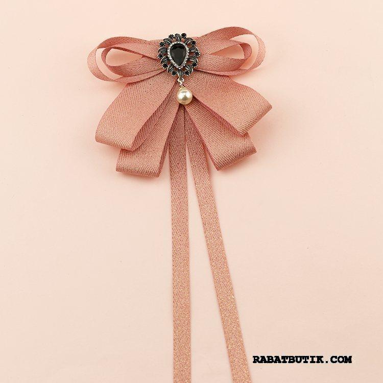 Butterfly Dame Køb Skjorte Dekoration Lille Tilbehør Vintage Lyserød