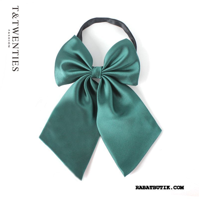 Butterfly Dame Tilbud Silke Kvinder Collar Blomst Tilbehør Erhverv Sølv Grøn