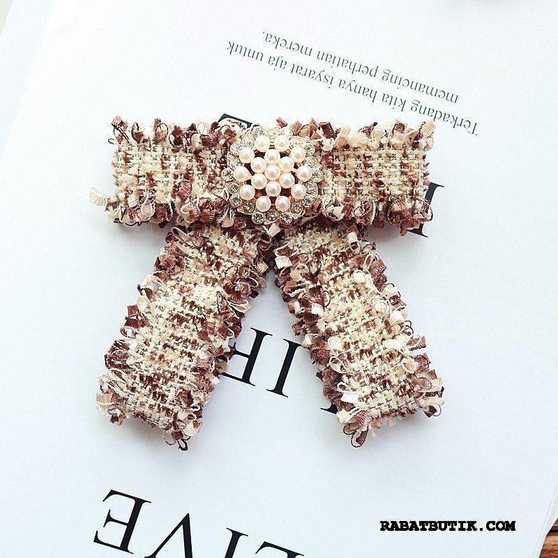 Butterfly Dame Tilbud Tassel Elegante Duftende Collar Blomst Kvinder Lyserød