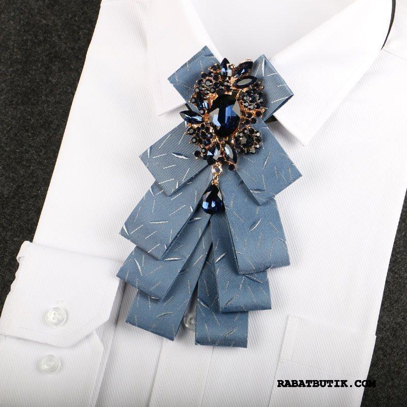 Butterfly Herre Online Kjole Britisk Mænd Business Ny Blå