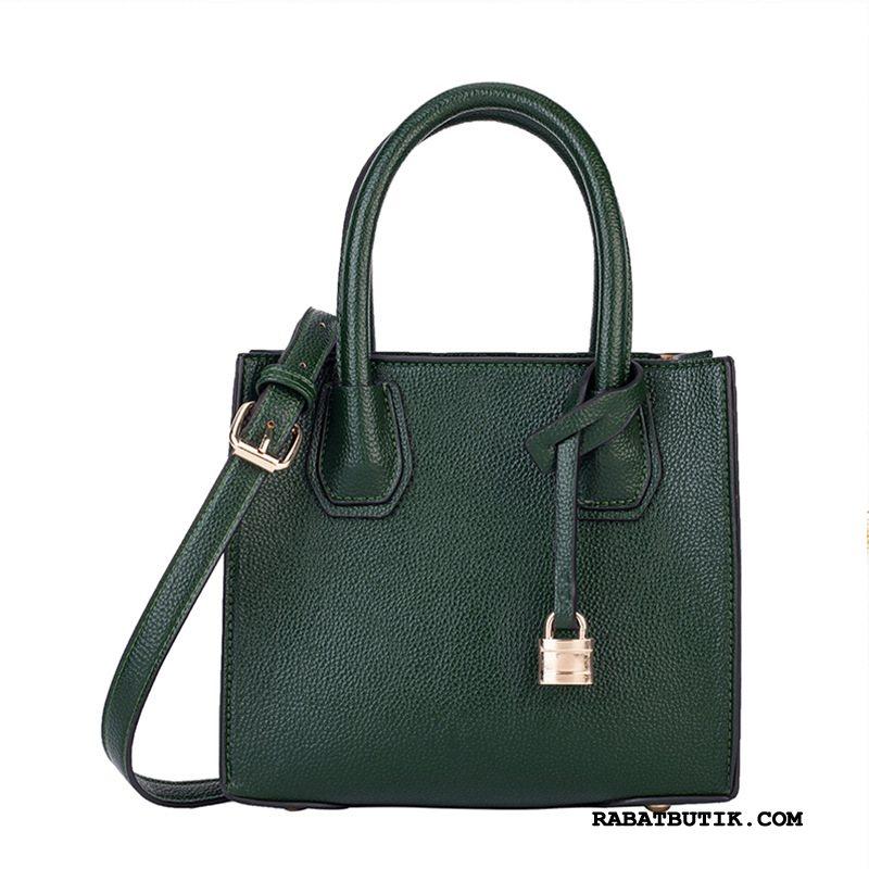 Håndtasker Dame Billig Mesh Mode Ny Kvinder Simpel Mørkegrøn Rød
