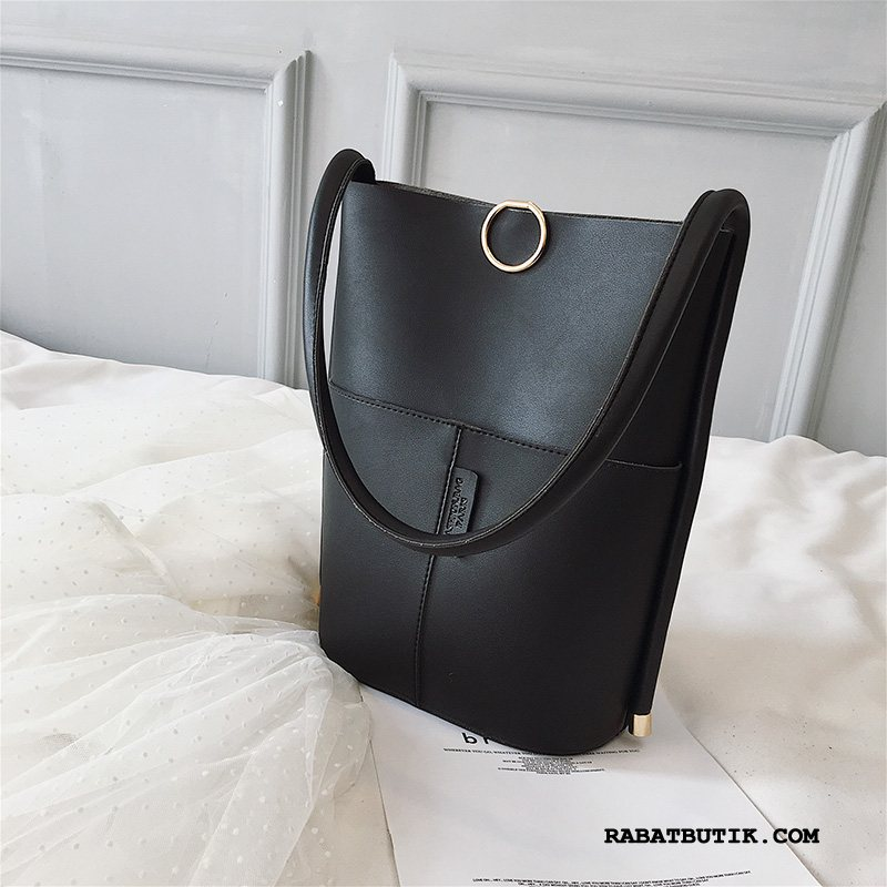 Håndtasker Dame Billige 2019 Skuldertaske Ny Casual Mode Sort