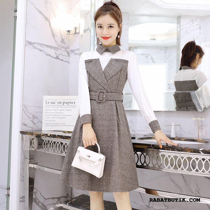 Kjoler Dame Billige Elegante 2019 Lange Ny Trend Lyse