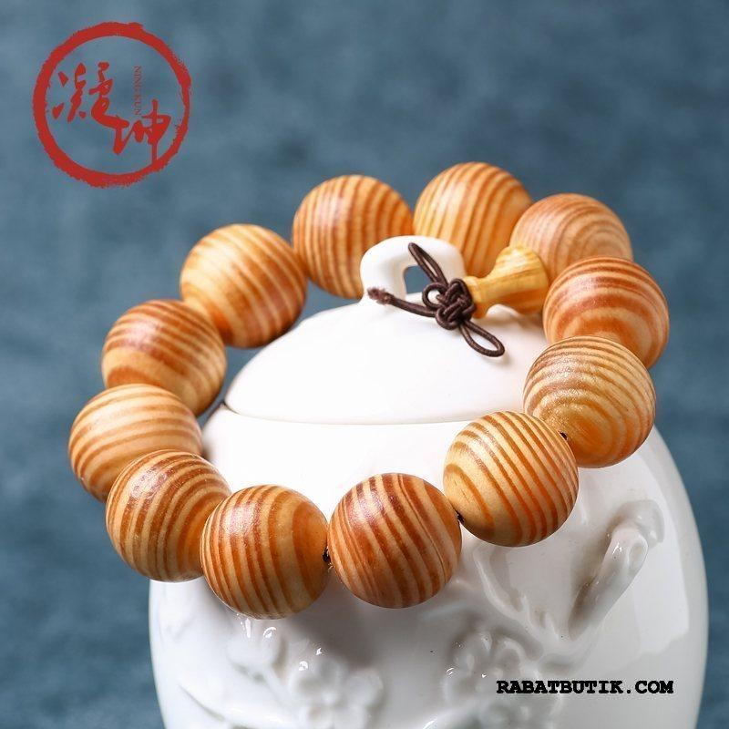 Perle Armbånd Herre Billige Mænd Dragon Træ Boutique Gul