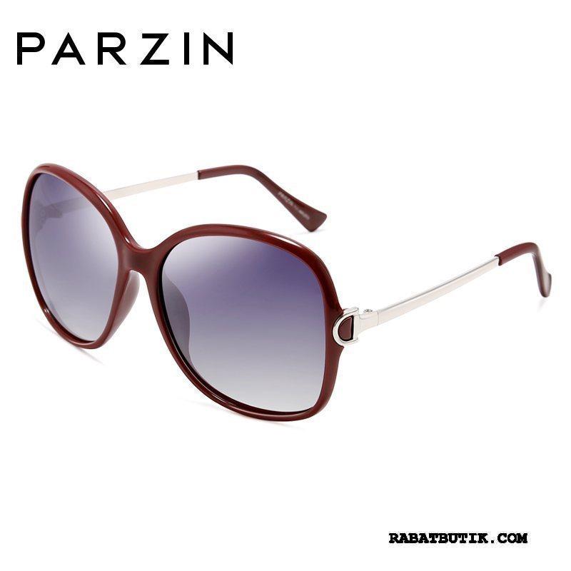 Solbriller Dame Billige Reparer Ansigtet Polarisator Mode Tudse Bøde Rød