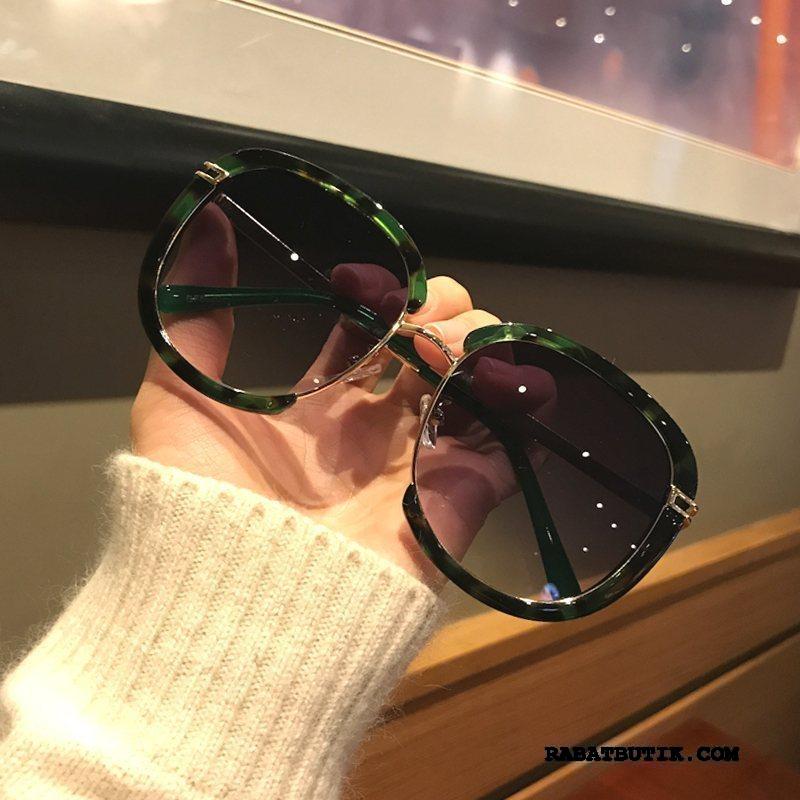 Solbriller Dame Billige Runde Ansigt Kvinder Trend Ny Nærsynethed Grøn