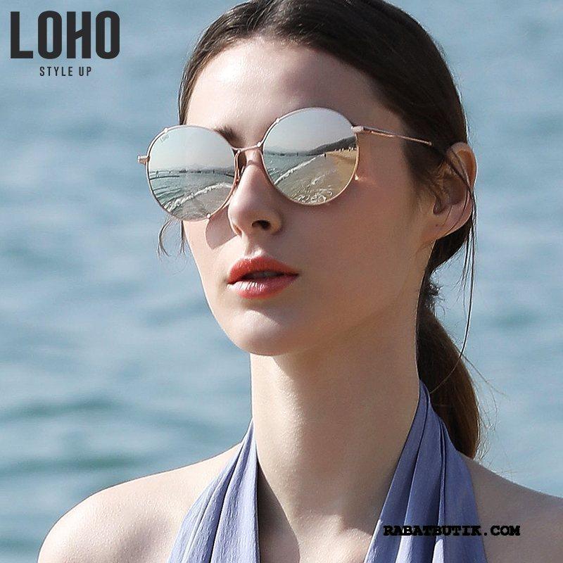 Solbriller Dame Salg Kvinder Elegante Vintage 2019 Polarisator Lyserød Guld