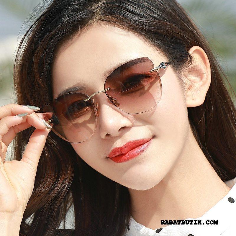 Solbriller Dame Tilbud Trend Solcreme Kvinder Mode 2019 Lilla Brun