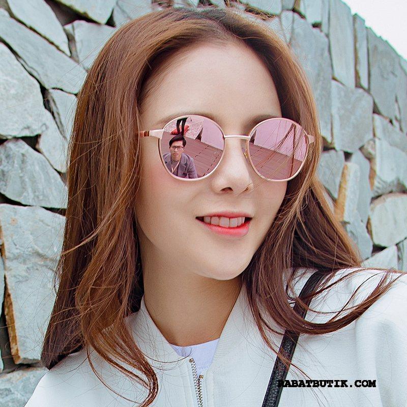 Solbriller Dame Udsalg Mesh Ny Nuttet Trend Damer Lyserød Rød