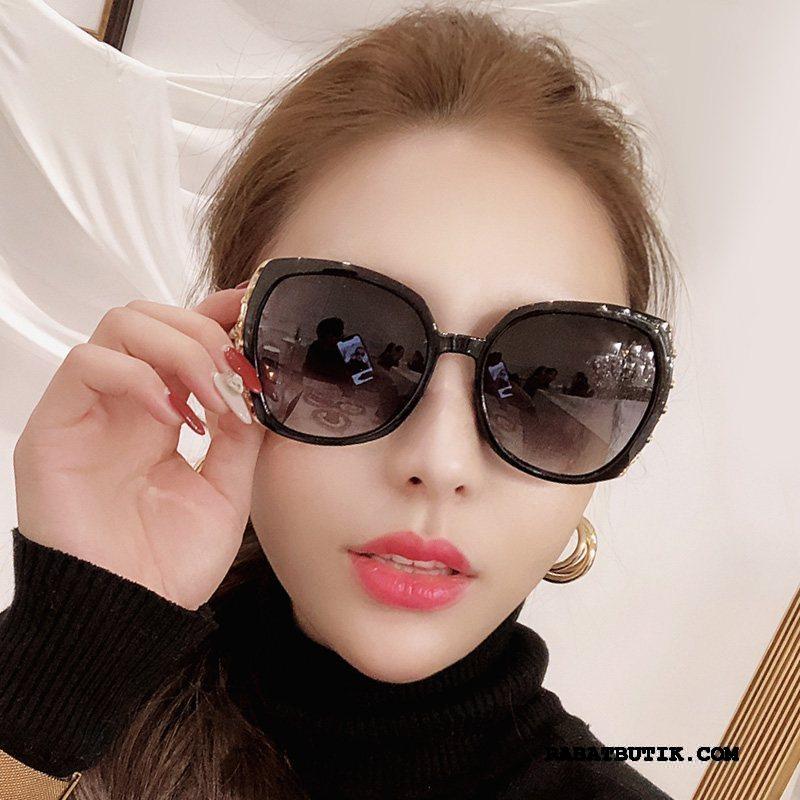 Solbriller Dame Udsalg Polarisator Elegante 2019 Mesh Trend Lilla Rød Sort