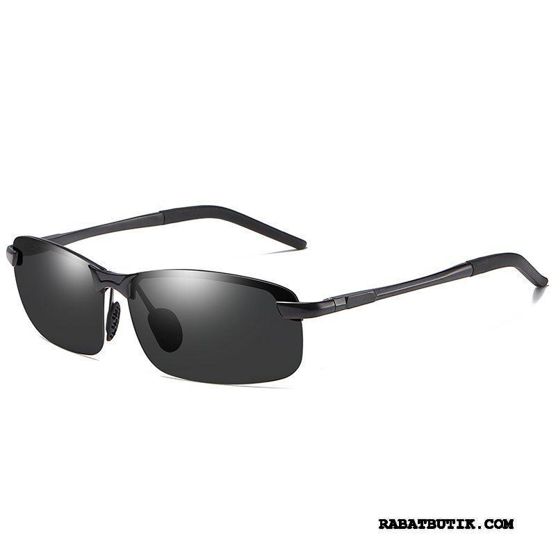 Solbriller Herre Billige Trend Polarisator Køre Ny Mænd Sort Grå