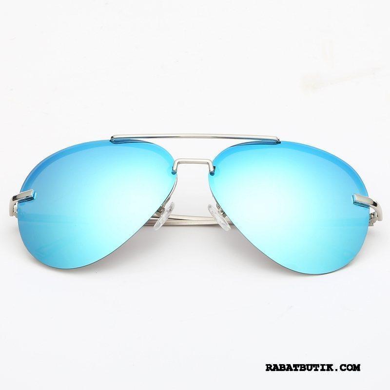 Solbriller Herre Butik Mænd Trend Kvinder Tudse Vintage Blå