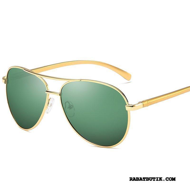 Solbriller Herre Køb Mænd Ny Køre Tudse Mode Grøn