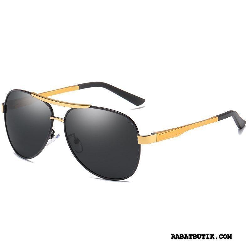 Solbriller Herre Salg Køre Mænd Aluminium Magnesium Natsyn Multifunktions Sort Grå Guld