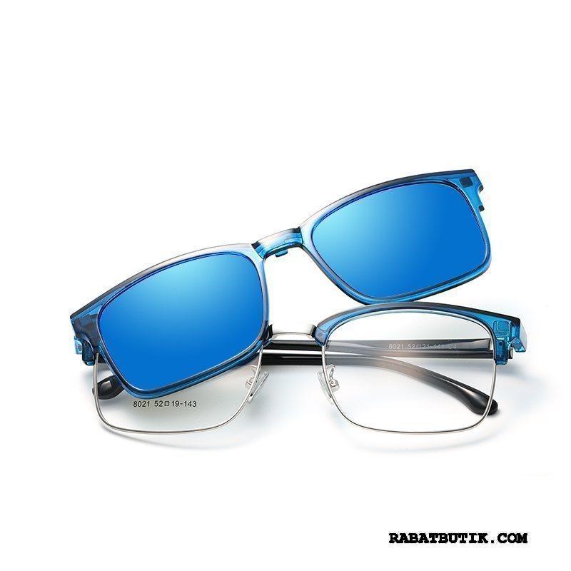 Solbriller Herre Salg Polarisator Kvinder Mænd Nærsynethed Stor Blå
