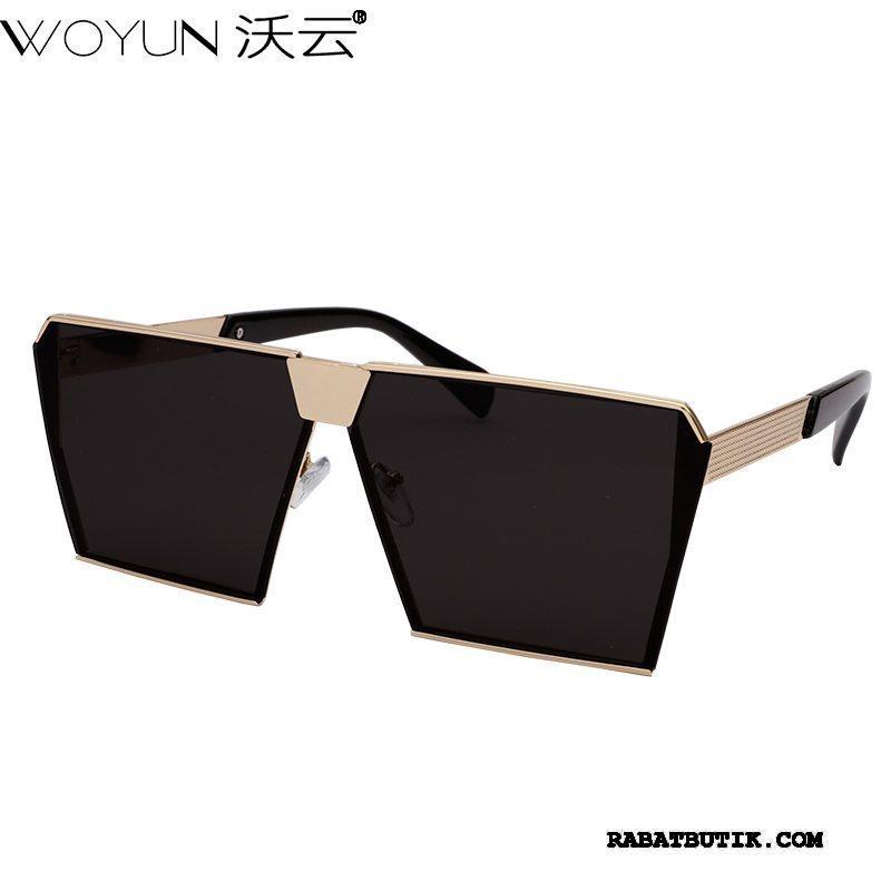 Solbriller Herre Tilbud Mode Mænd Kvinder Trend Mesh Rød Sort